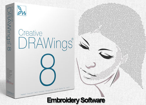 Creative DRAWings 8 Embroidery Software